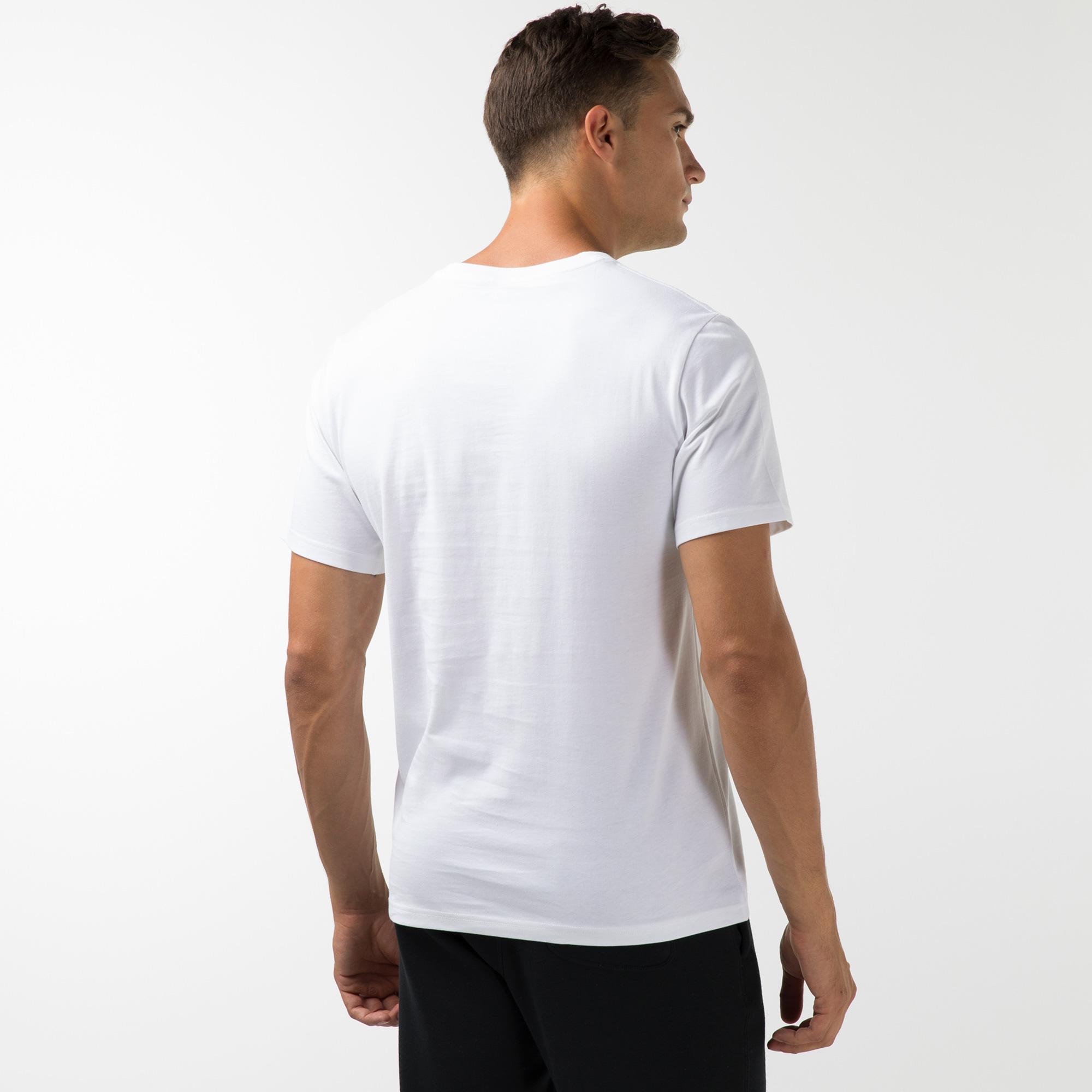 Converse Star Chevron Erkek Beyaz T-Shirt