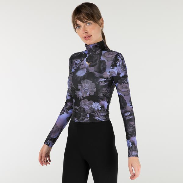 Puma Evide Kadın Mor T-Shirt