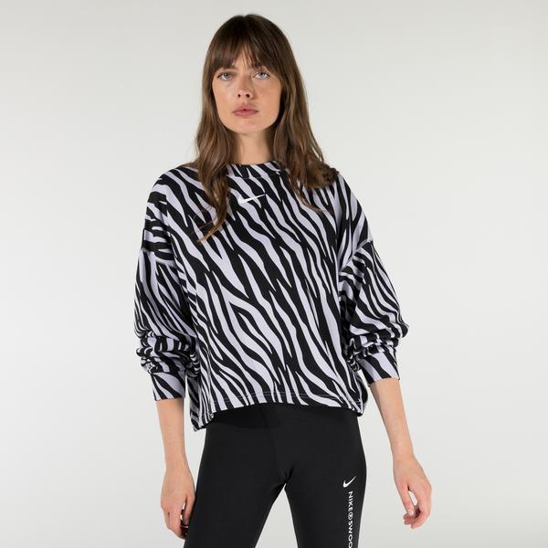 Nike Sportswear Icon Clash Kadın Siyah Sweatshirt