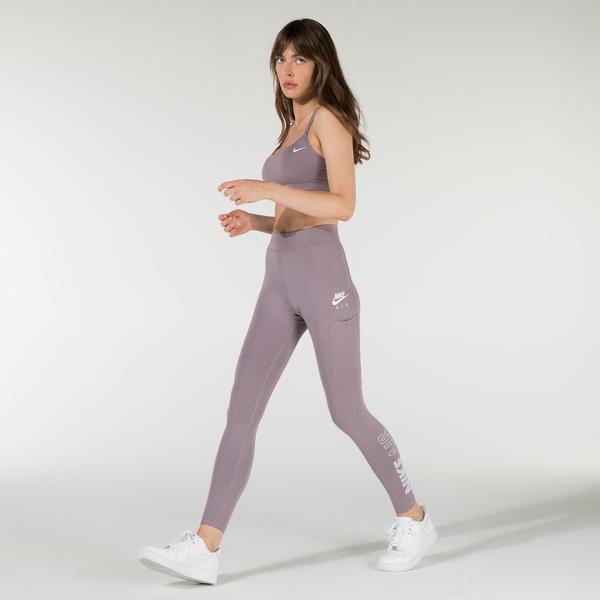 Nike Air Kadın Mor Tayt