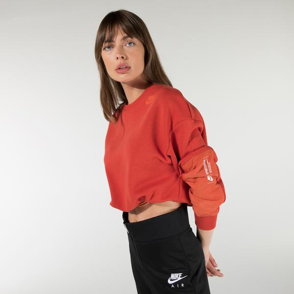 Nike Sportswear Kadın Turuncu Sweatshirt