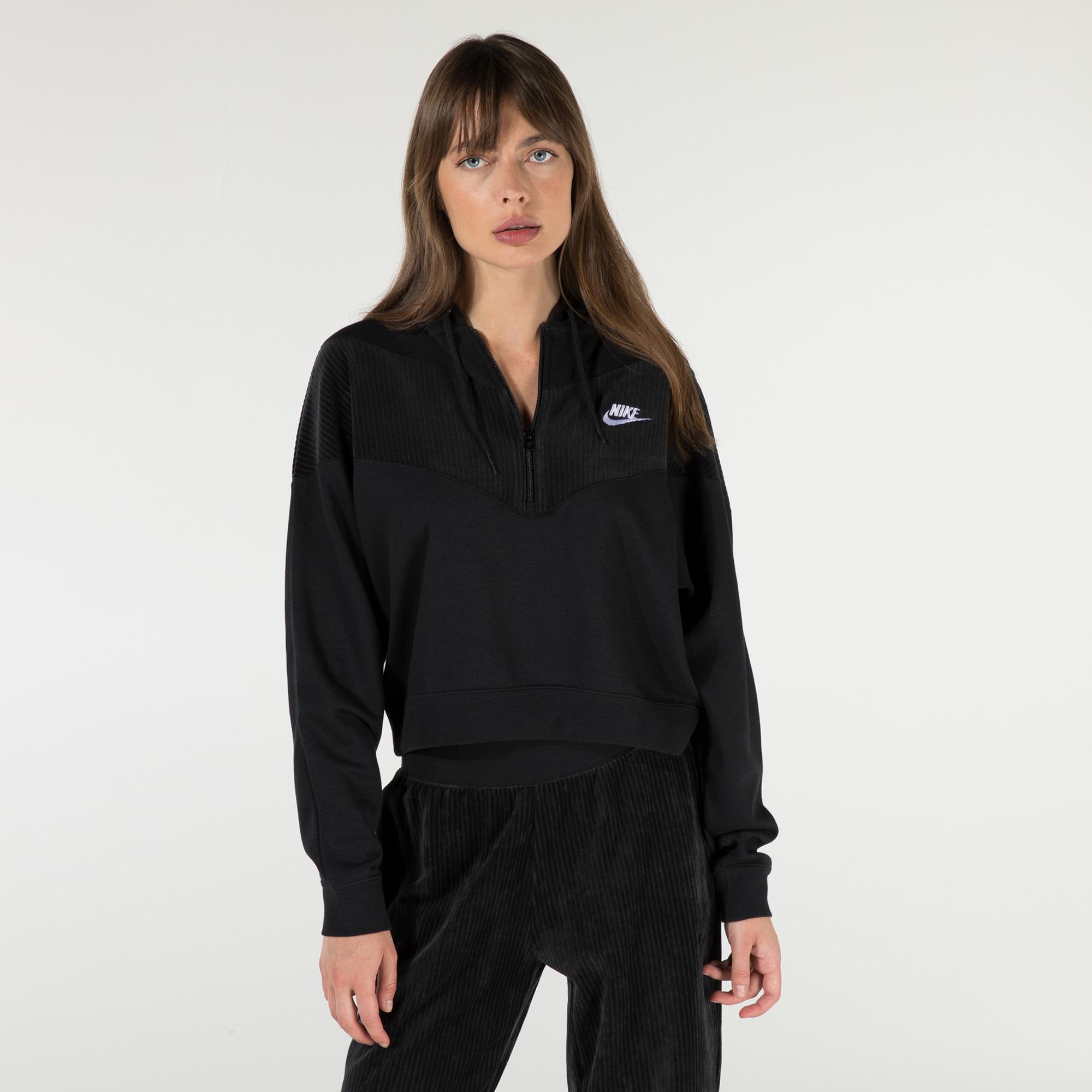 Nike Kadın Siyah Sweatshirt
