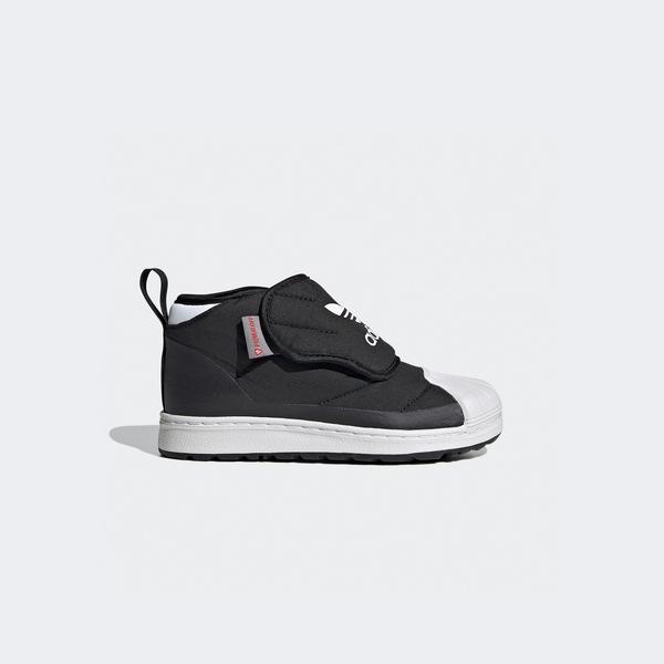 adidas Superstar 360 Boot Çocuk Siyah Spor Ayakkabı