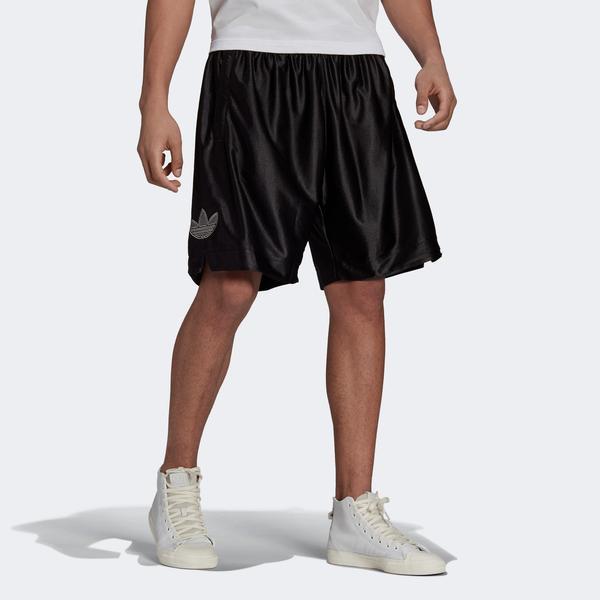 adidas Logo Erkek Siyah Şort