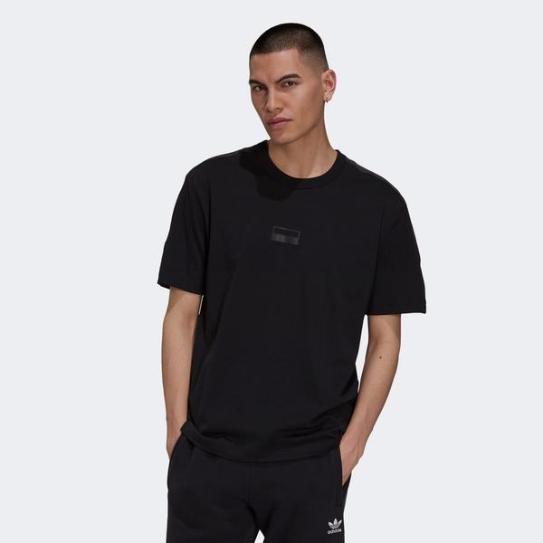 adidas R.Y.V. Logo Tee Erkek Siyah T-shirt