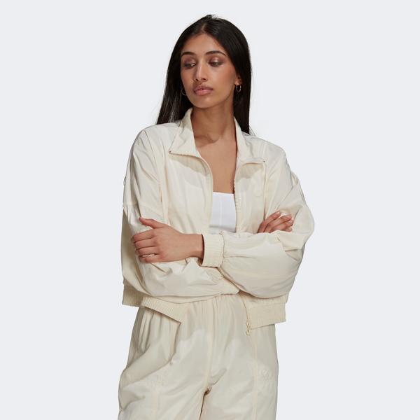 adidas Adicolor Kadın Krem Ceket