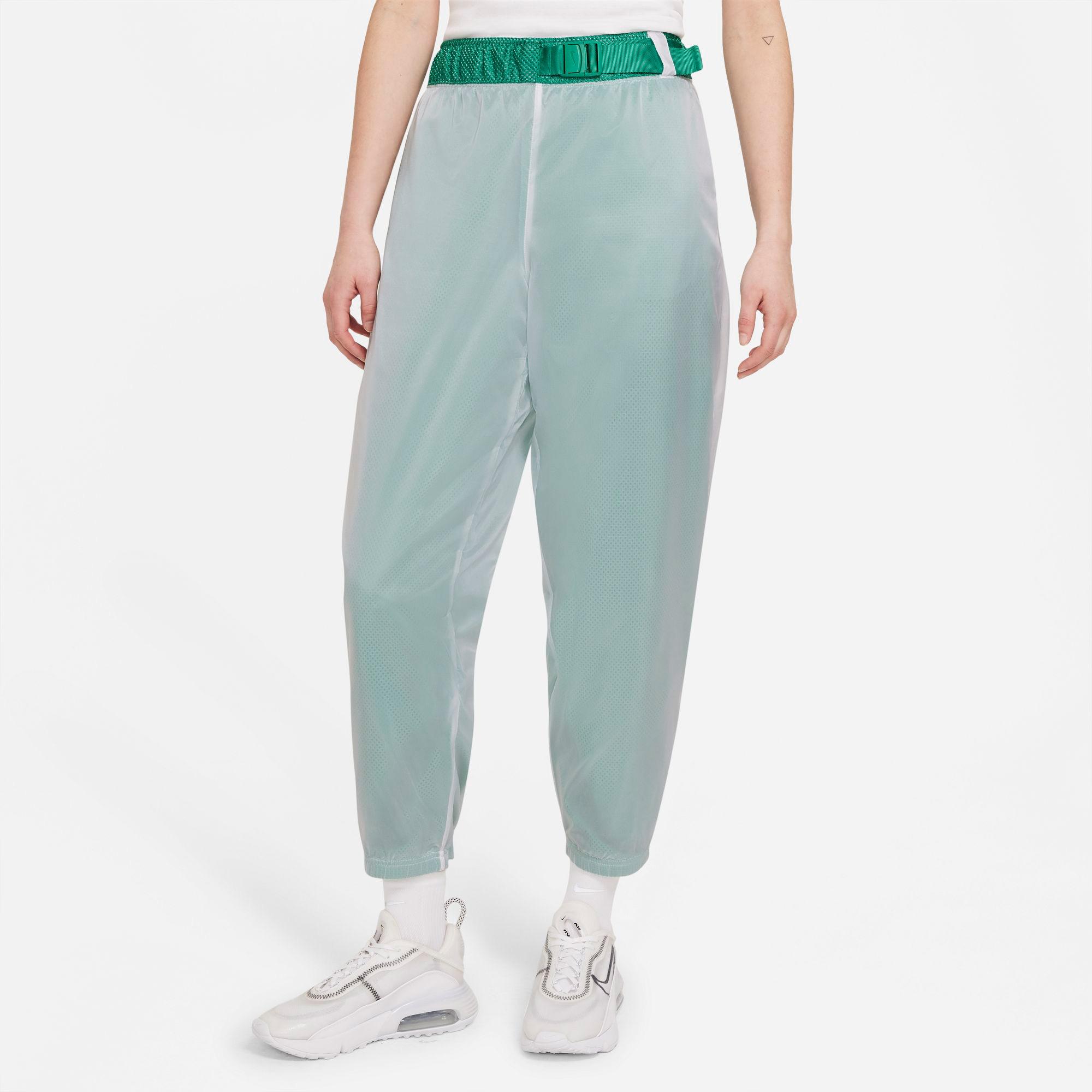 Nike Sportswear Tech Pack Kadın Yeşil Eşofman Altı