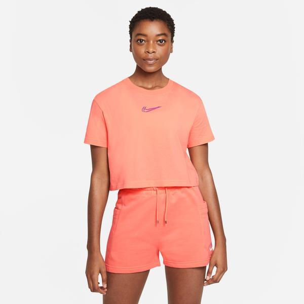 Nike Sportswear Kadın Turuncu Crop T-Shirt