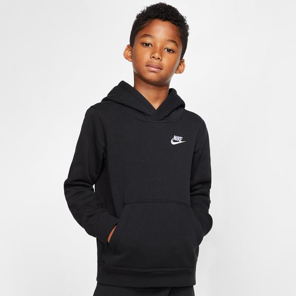 Nike Sportswear Club Çocuk Siyah Pull Over Sweatshirt