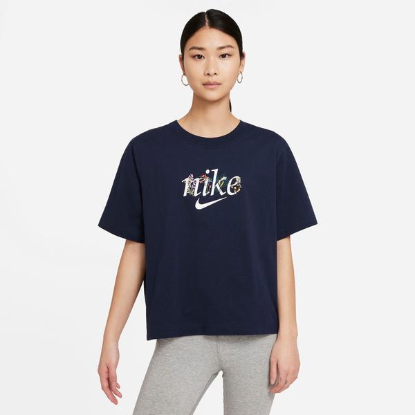 Nike Sportswear Kadın Lacivert Tshırt