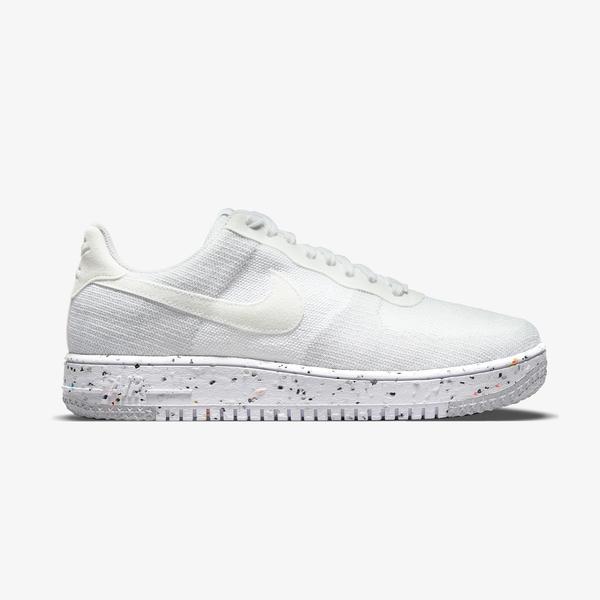 Nike Air Force 1 Crater FlyKnit Erkek Beyaz Spor Ayakkabı