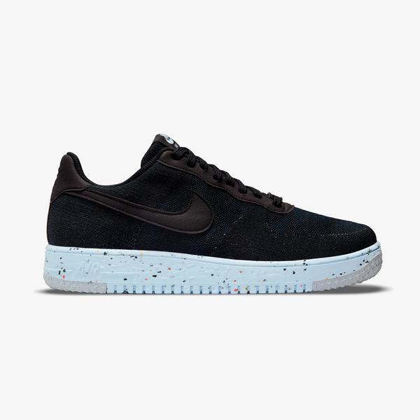 Nike Air Force 1 Crater FlyKnit Erkek Siyah Spor Ayakkabı