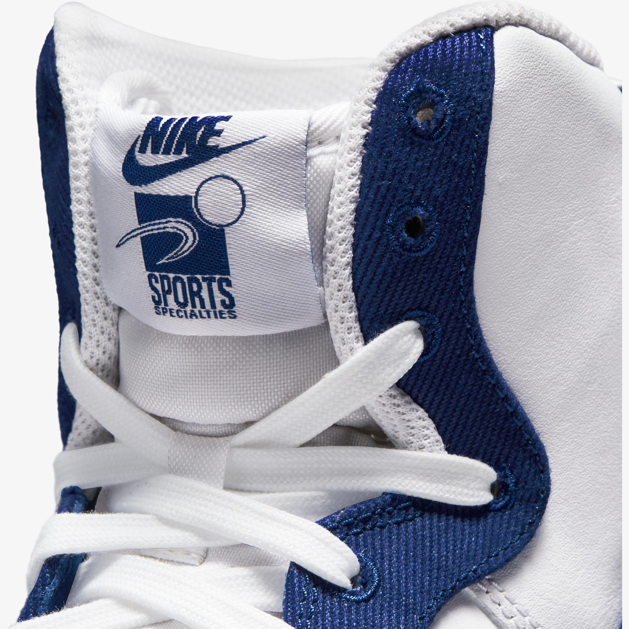Nike Air Force 1 High '07 EMB Dodgers Erkek Beyaz Spor Ayakkabı