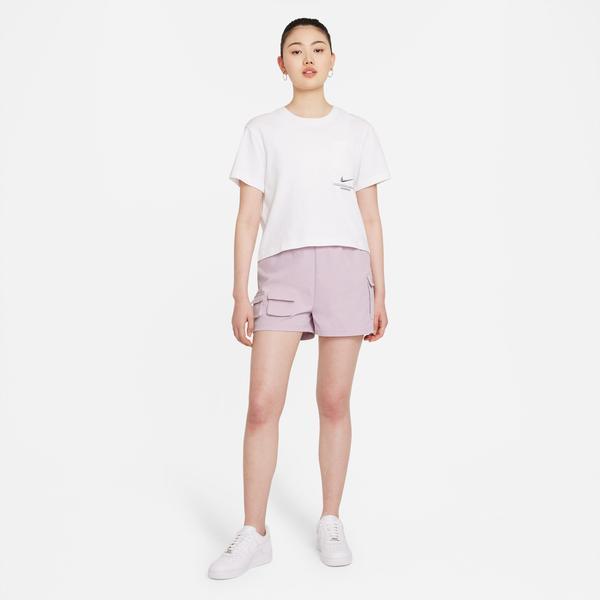 Nike Sportswear Swoosh Kadın Pembe Şort