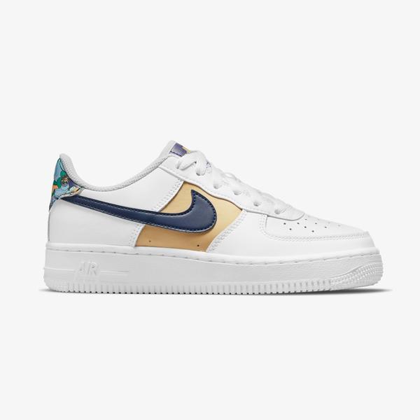 Nike Air Force 1 Low Lv8 Kadın Beyaz Spor Ayakkabı
