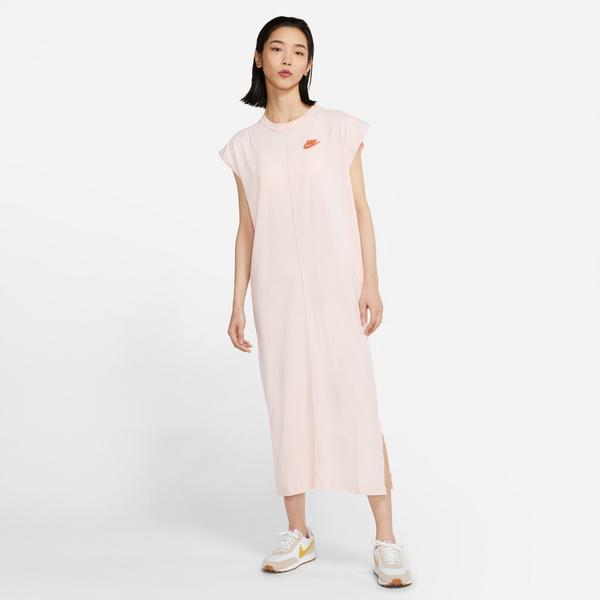 Nike Sportswear Earth Day Ft Kadın Pembe Elbise