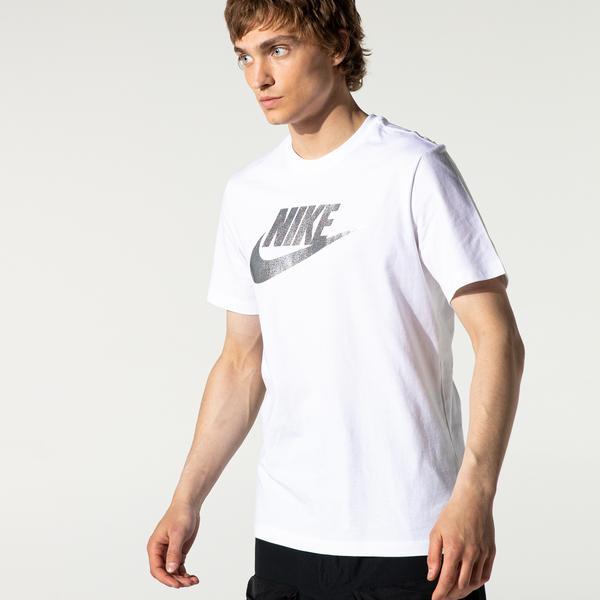 Nike Sportswear Brand Mark Erkek Beyaz T-Shirt