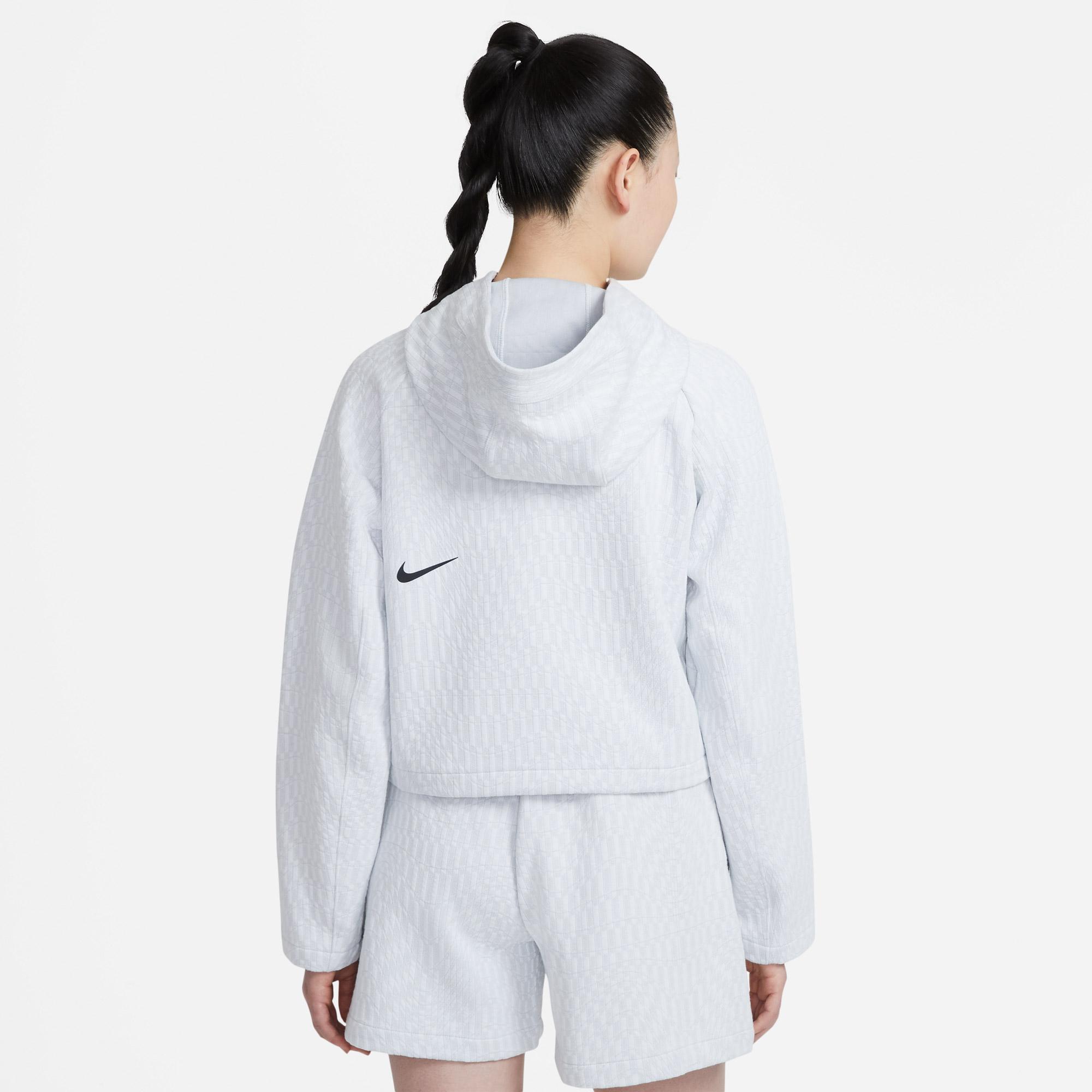 Nike Sportswear Tck Pck Aoj Kadın Beyaz Sweatshirt