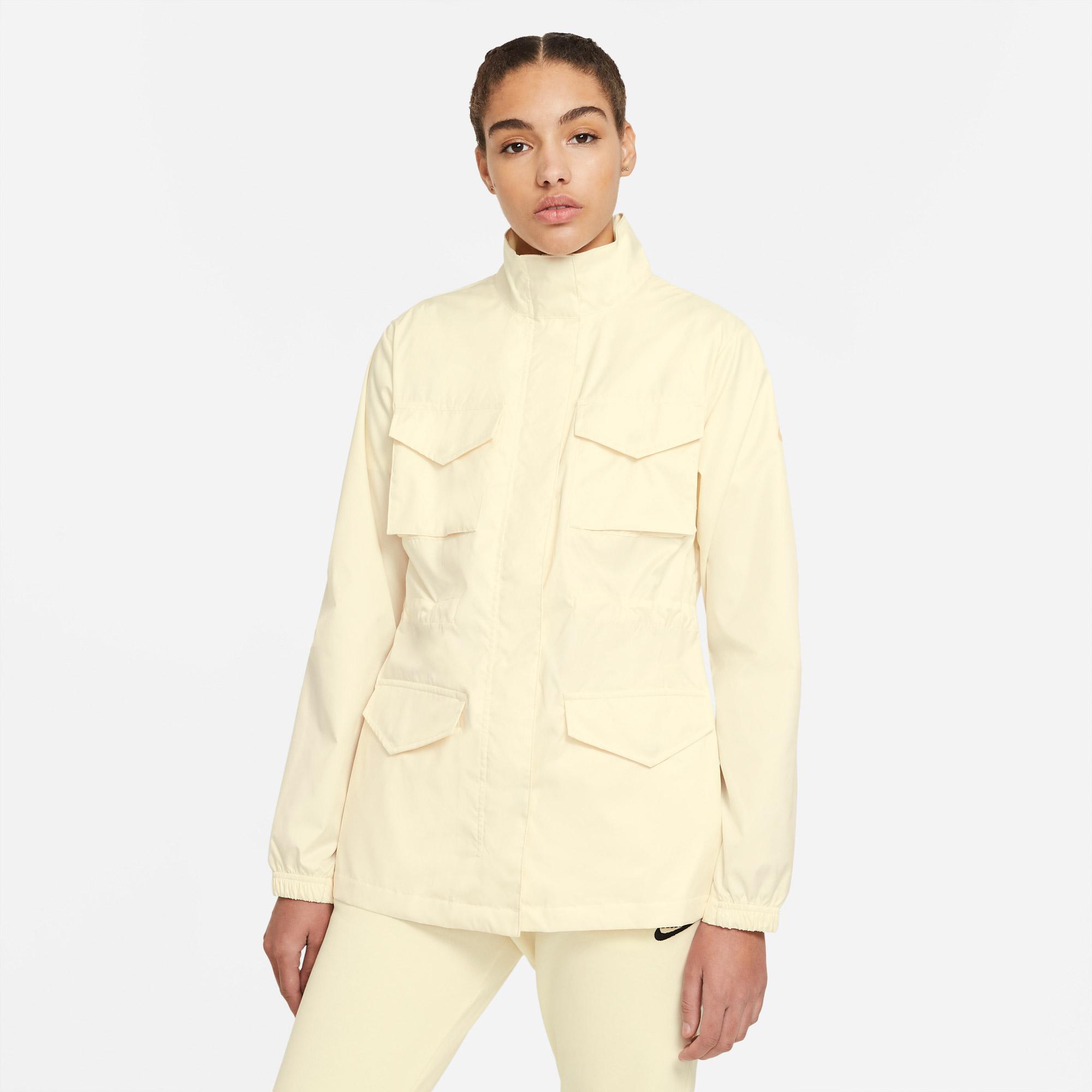 Nike Sportswear Kadın Sarı Ceket