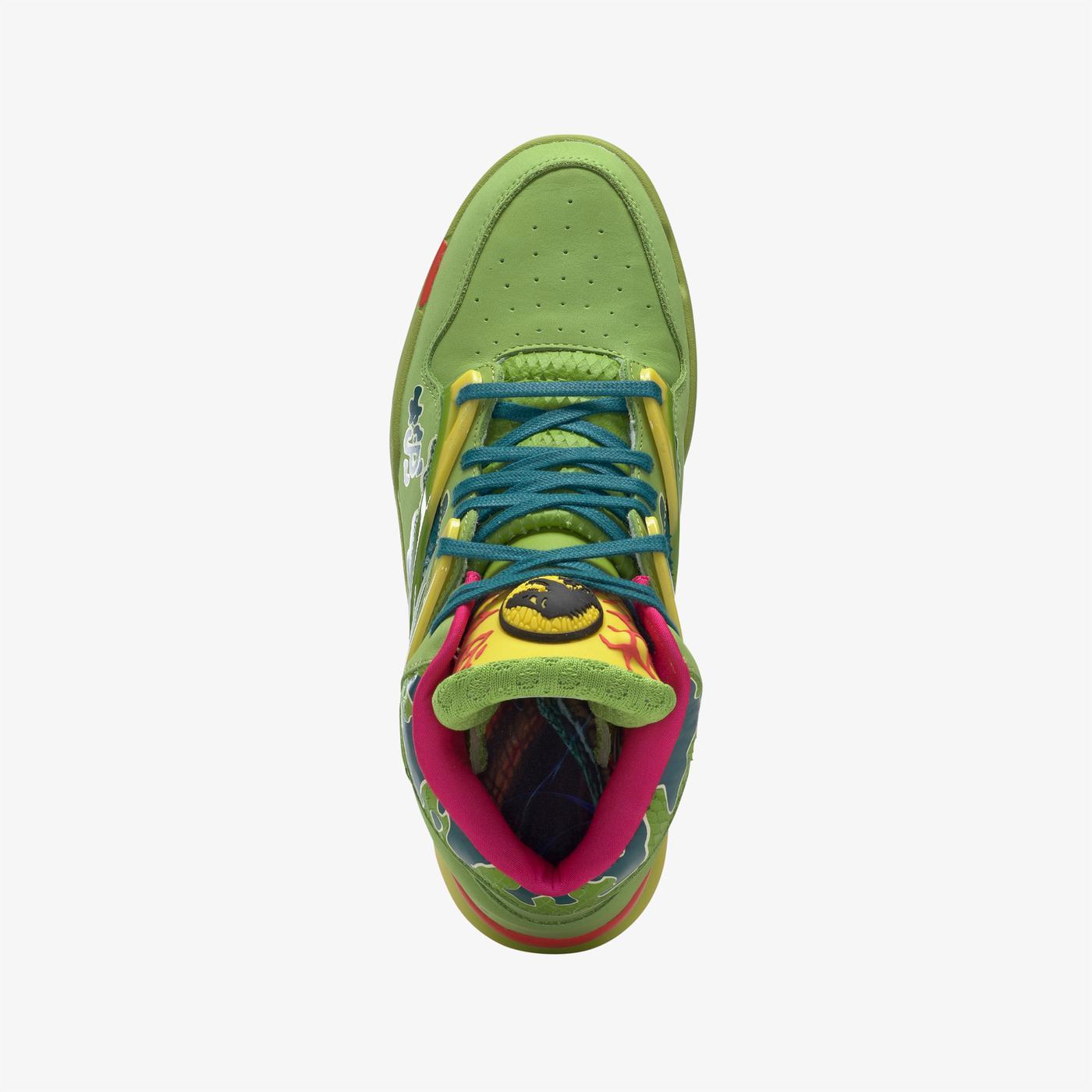 Reebok Pump Omni Zone II Unisex Yeşil Spor Ayakkabı