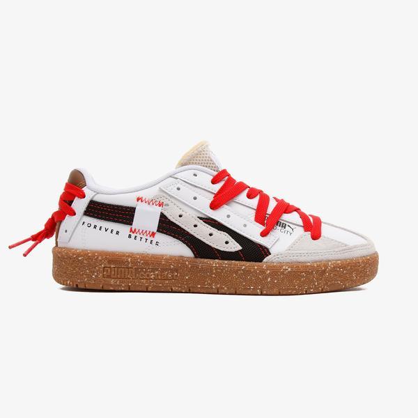 Puma Oslo-City Re.Gen Kadın Beyaz Spor Ayakkabı