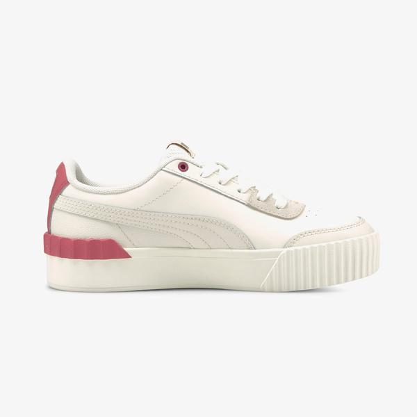 Puma Carina Lift Kadın Platform Beyaz Spor Ayakkabı
