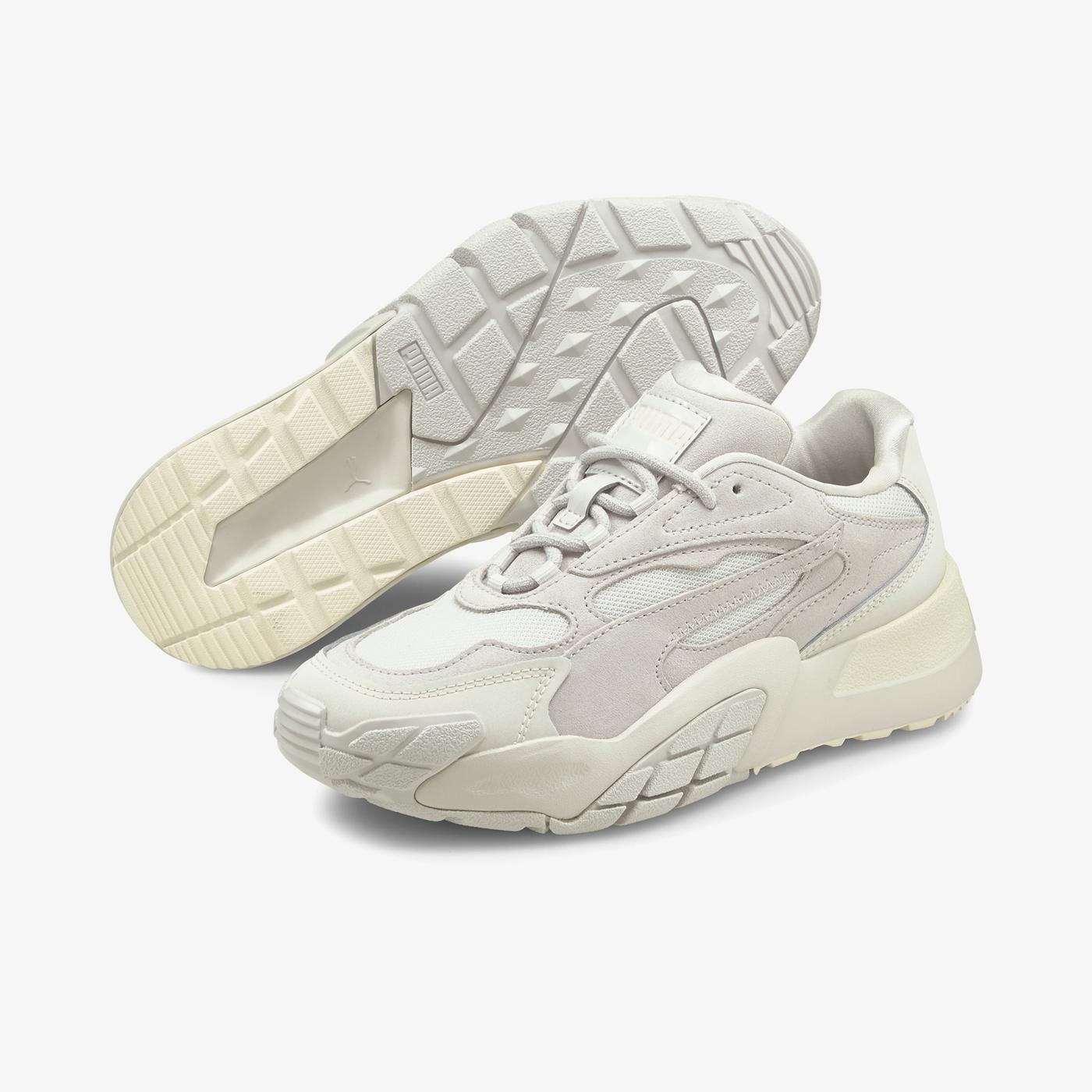 Puma Hedra Kadın Gri Spor Ayakkabı