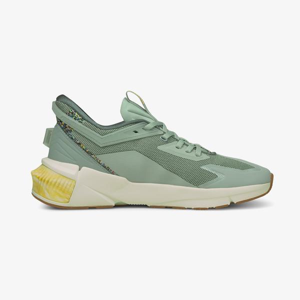 Puma Provoke XT FTR FM Utility Kadın Yeşil Spor Ayakkabı