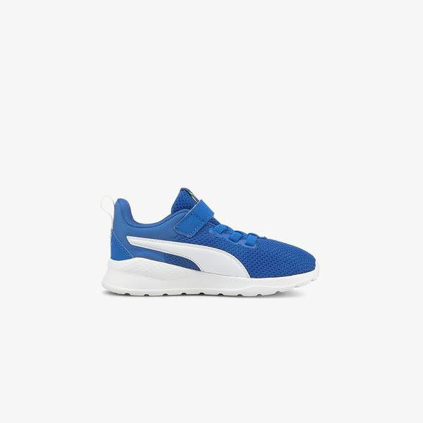 Puma Anzarun Lite Çocuk Mavi Spor Ayakkabı