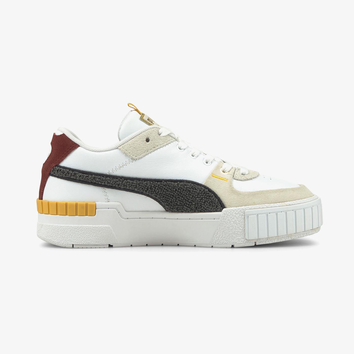 Puma Cali Sport Varsity Kadın Beyaz Spor Ayakkabı