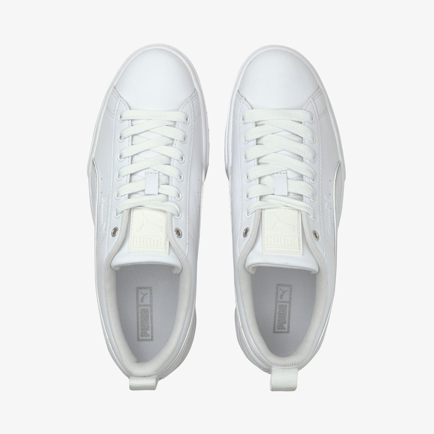 Puma Mayze Kadın Beyaz Spor Ayakkabı