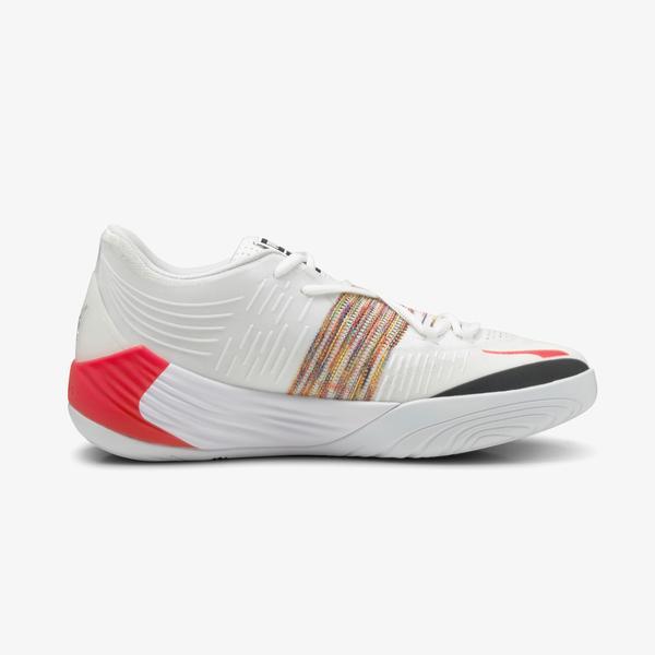 Puma Fusion Nitro Erkek Beyaz Spor Ayakkabı