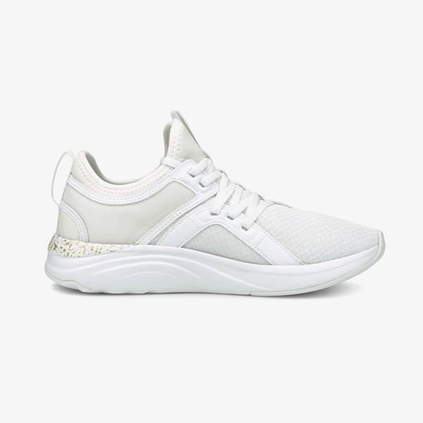Puma Softride Sophia Shimmer Kadın Beyaz Spor Ayakkabı