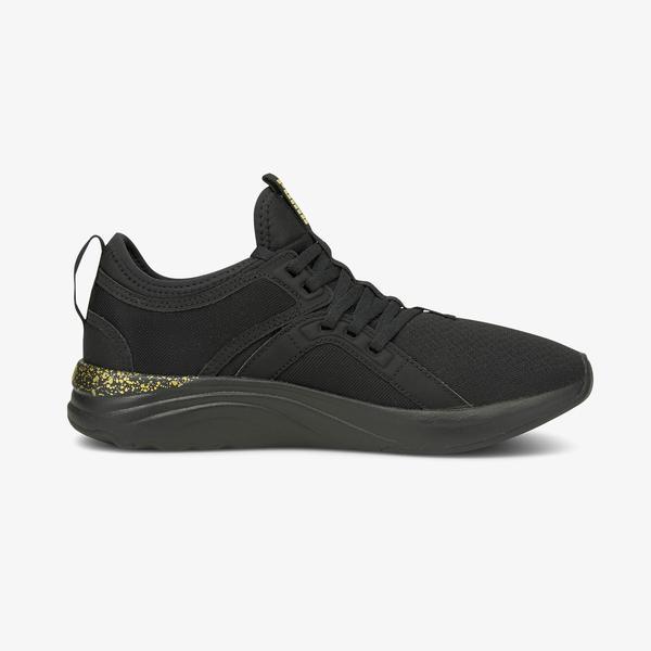 Puma Softride Sophia Shimmer Kadın Siyah Spor Ayakkabı