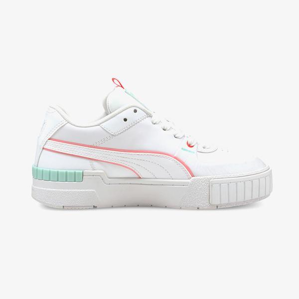 Puma Cali Sport Clights Kadın Beyaz Spor Ayakkabı