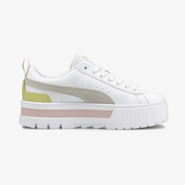 Puma Mayze Kadın Platform Beyaz Spor Ayakkabı