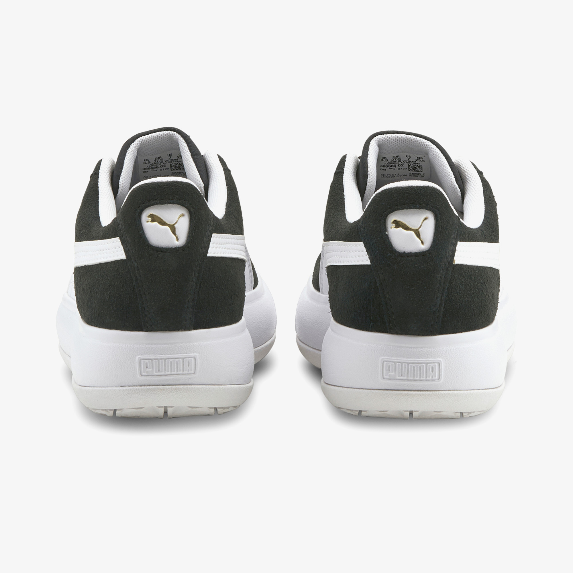 Puma Suede Mayu Kadın Platform Siyah Spor Ayakkabı