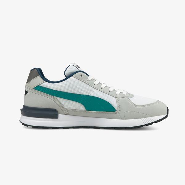 Puma Graviton Unisex Gri Spor Ayakkabı