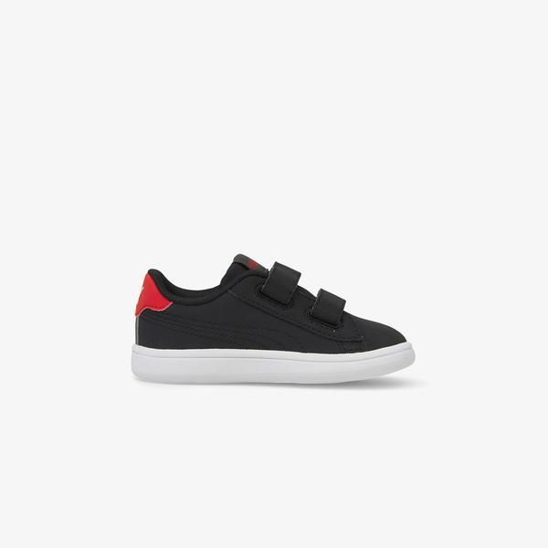 Puma Smash V2 Lil V Bebek Siyah Spor Ayakkabı