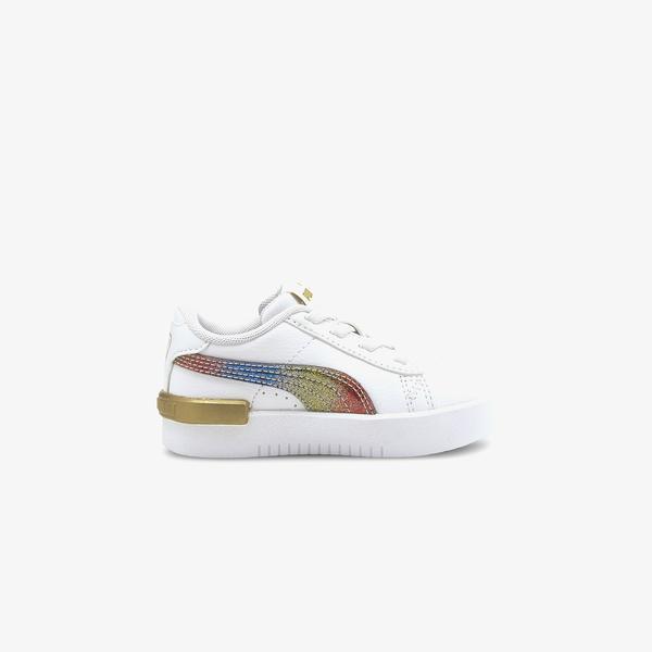 Puma Jada Olympic Bebek Beyaz Spor Ayakkabı