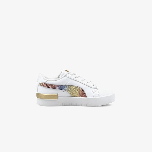 Puma Jada Olympic Çocuk Beyaz Spor Ayakkabı