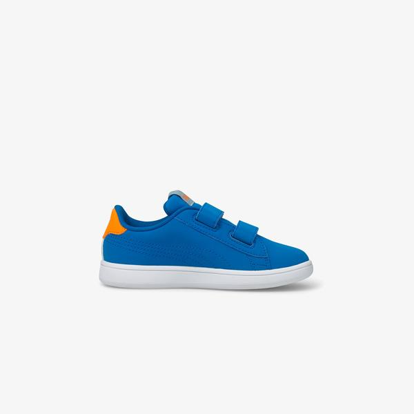 Puma Smash V2 Lil V Çocuk Mavi Spor Ayakkabı