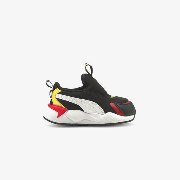 Puma Peanuts RS-X³ Bebek Siyah Spor Ayakkabı