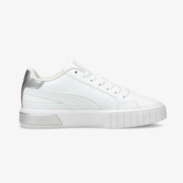 Puma Cali Star Metallic Kadın Beyaz Spor Ayakkabı