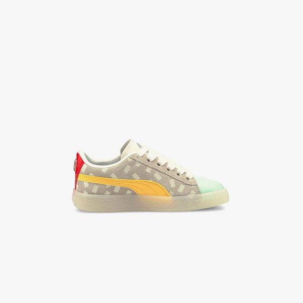 Puma Suede Haribo Çocuk Sarı Spor Ayakkabı