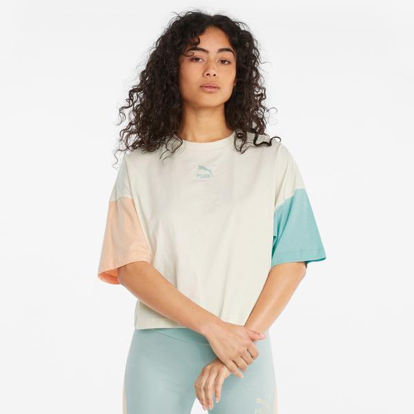 Puma CLX Kadın Krem T-Shirt