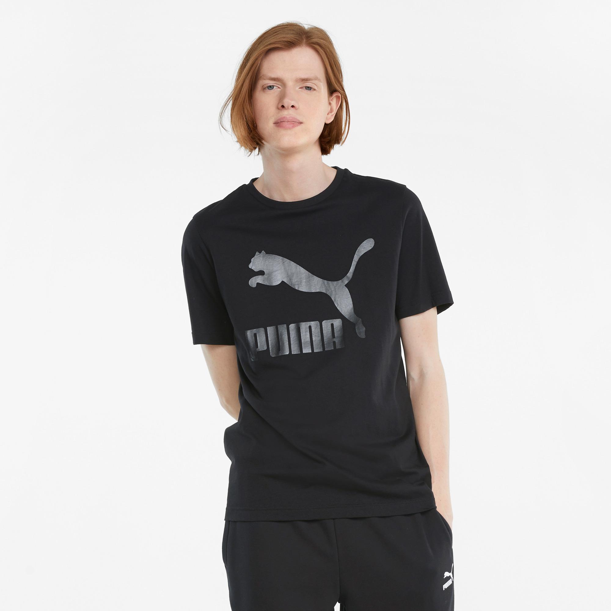 Puma Classics Erkek Siyah T-Shirt