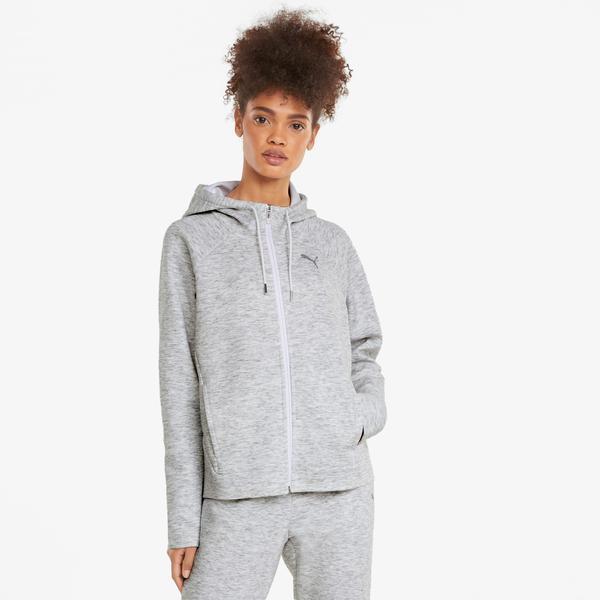 Puma Evostripe Kadın Gri Sweatshirt