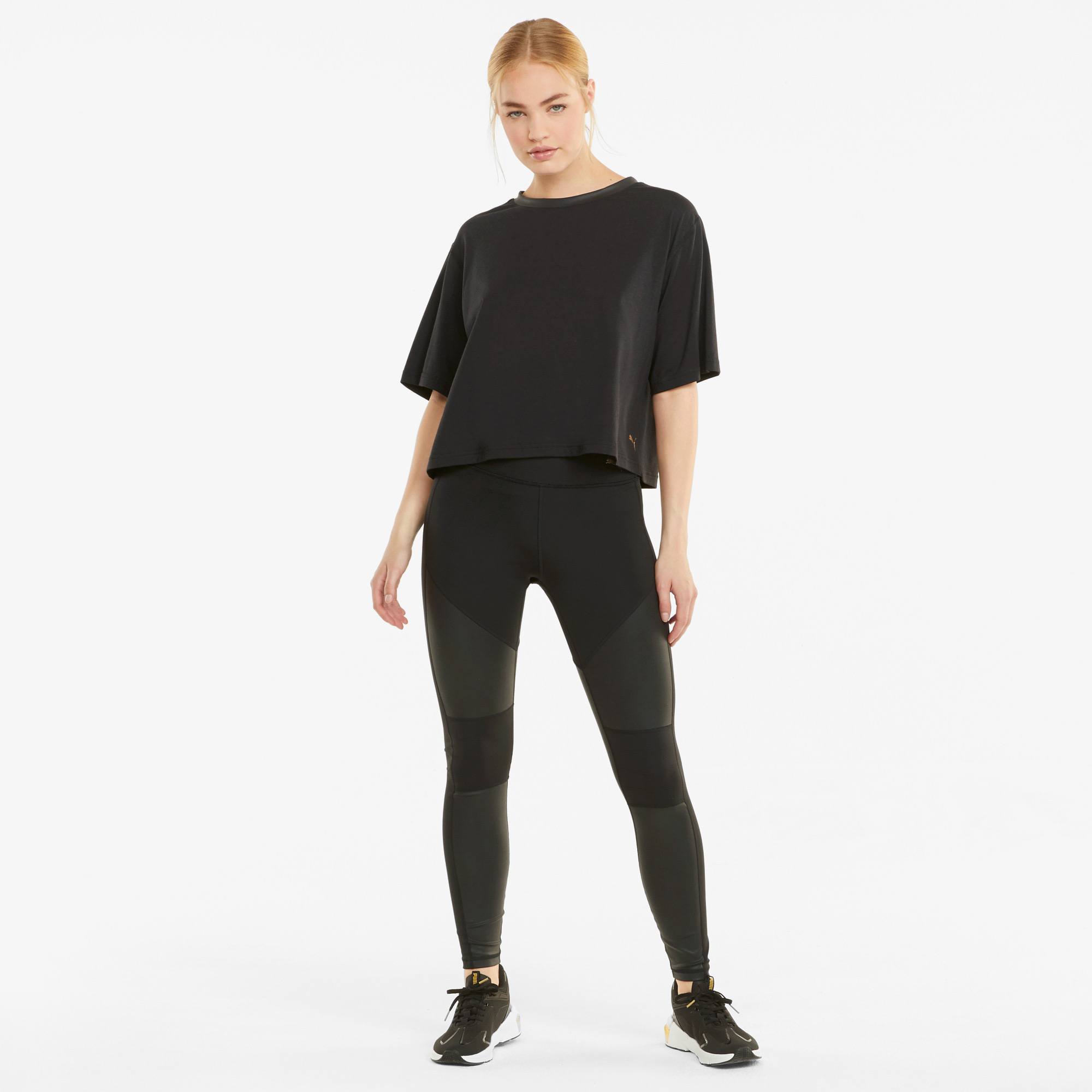 Puma Moto Kadın Siyah T-Shirt