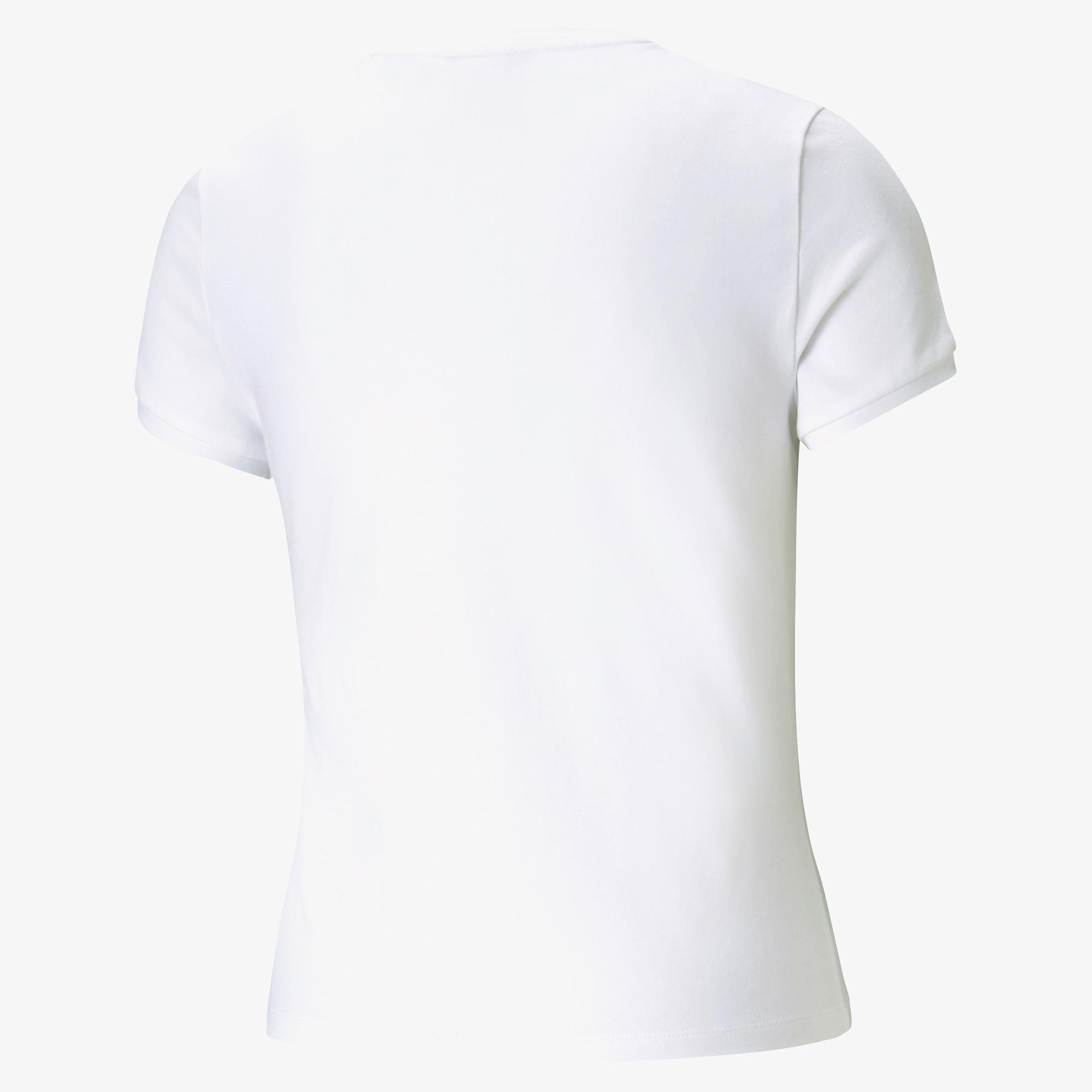 Puma Classics Kadın Beyaz T-Shirt